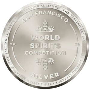Image result for SILVER MEDAL san francisco world spirits competition 2019